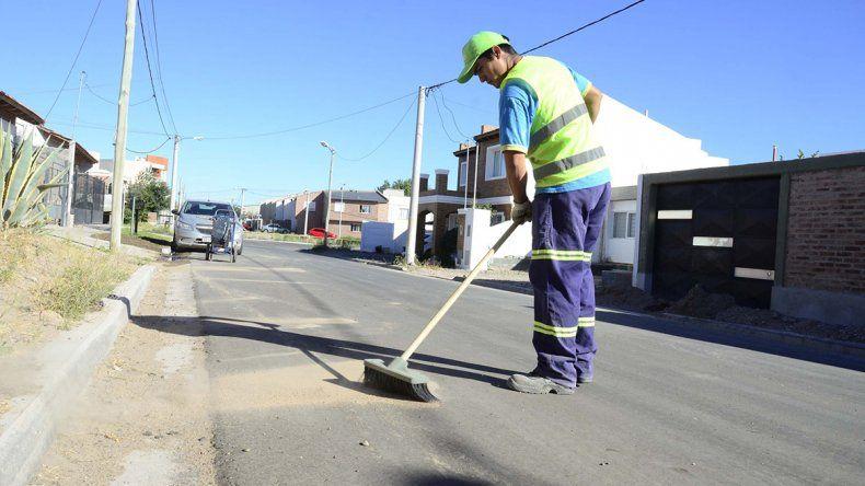 Más sectores con barrido de calles y recolección de residuos