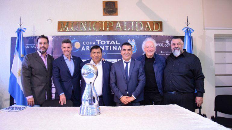Cutral Co, anfitrión de la Copa Argentina