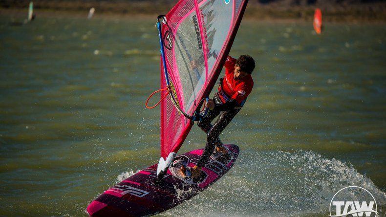 Windsurf: un cipoleño se consagró campeón en Mar del Plata