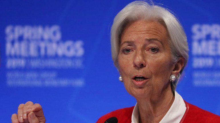 Lagarde: Sería una tontería darle la espalda al acuerdo