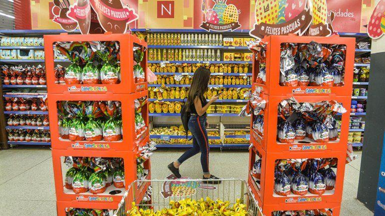 La canasta de Pascua vale un 55% más que en 2018