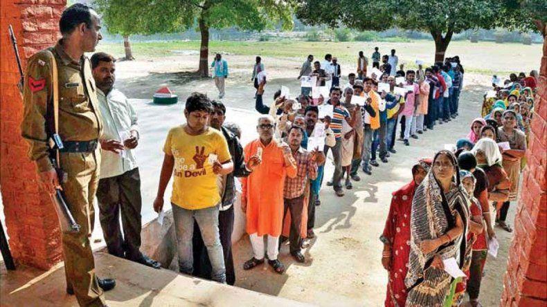 En India se realiza la mayor elección de la historia mundial