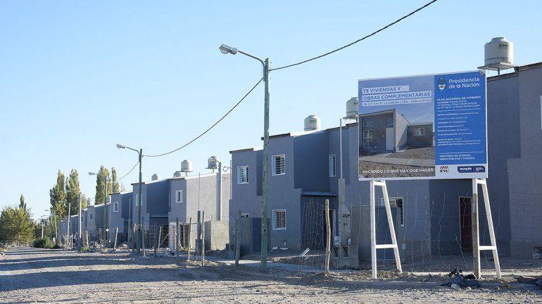 Planes de vivienda 127 hectáreas