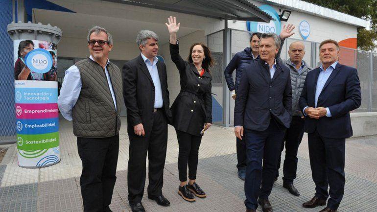 Macri invitó a Vidal y a sus intendentes sin tierra a Olivos