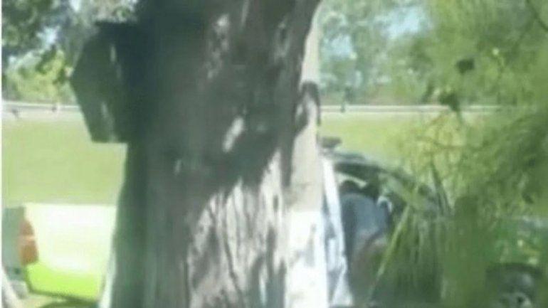 Desafectaron a dos policías que tenían sexo en un patrullero