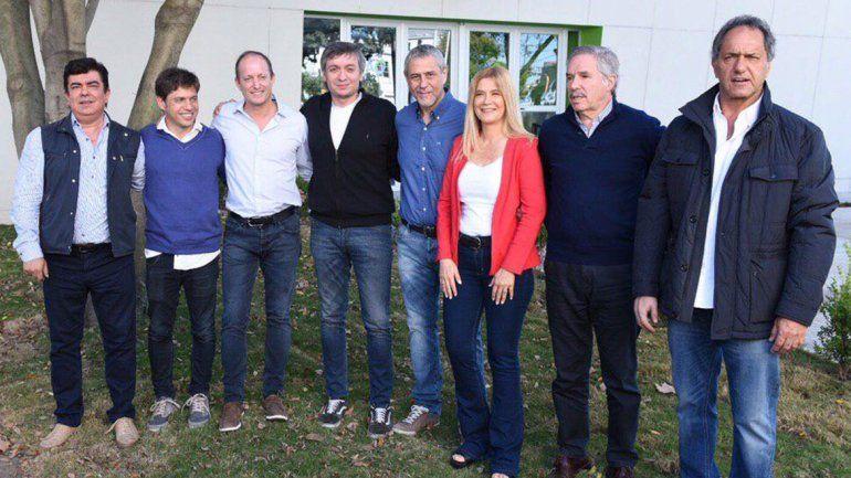 PJ bonaerense: precandidatos K se mostraron juntos