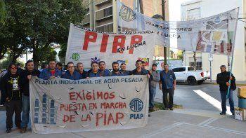 trabajadores de la piap piden una reunion con el gobierno