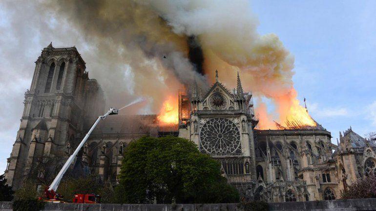 Una foto de mil millones de pixeles para ver en detalle el desastre en Notre Dame