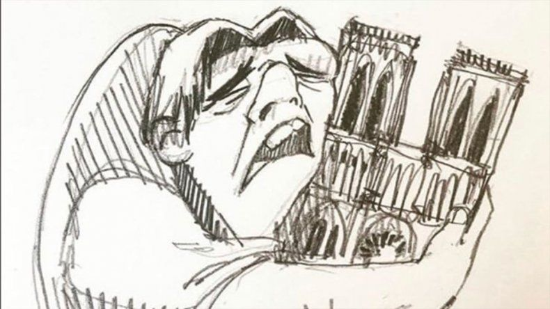 Las redes estallaron por el incendio de Notre Dame