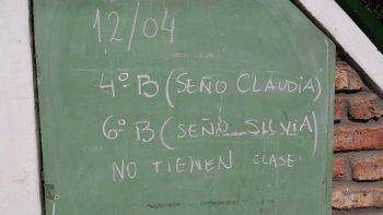 familias amenazan con tomar la escuela 60 si no asignan porteros