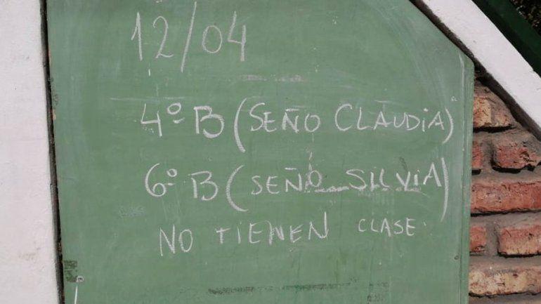 Familias amenazan con tomar la Escuela N°60 si no asignan porteros