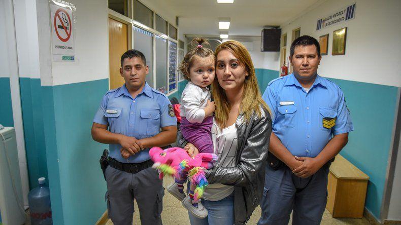 Los ángeles de Delfina: salvaron a una beba que dejó de respirar durante 15 minutos