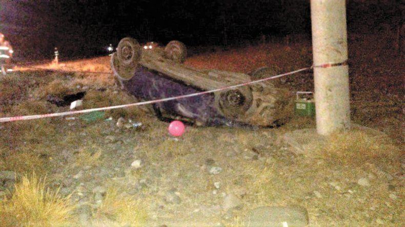 Joven de Loncopué volcó y murió en la ruta provincial 21