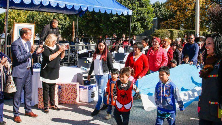 Piedra del Águila celebró con un acto su 122º aniversario