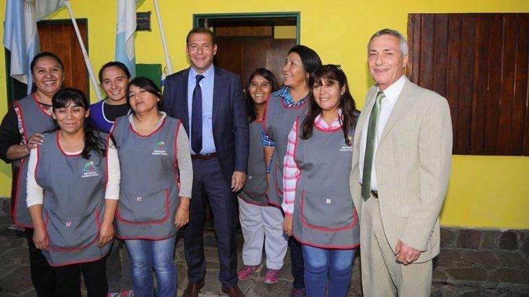 Gutiérrez inauguró obras en el 33° aniversario de Caviahue-Copahue