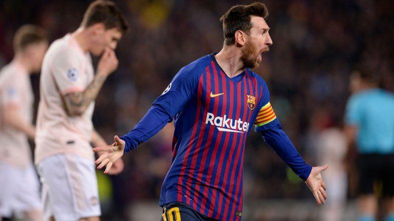 Gracias a Messi, el Barcelona se clasificó a las semifinales de la Champions