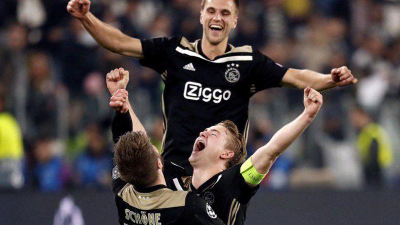 Ajax eliminó a Juventus y está en semifinales
