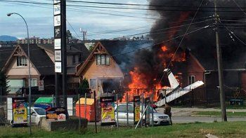 tragedia: cayo un avion en chile y hay seis muertos