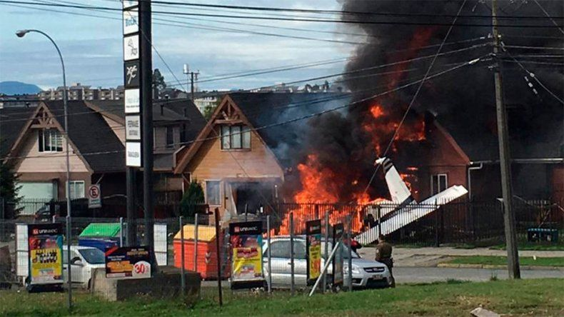Cae un avión en Chile: 6 muertos