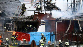 cae un avion en chile: 6 muertos