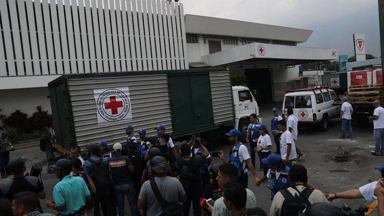 Venezuela: al fin llegó la ayuda de la Cruz Roja