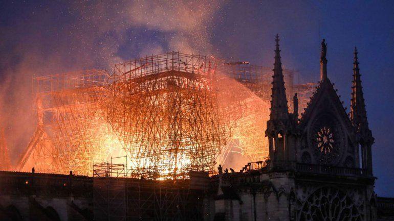 El Estado Islámico celebró el incendio en Notre Dame