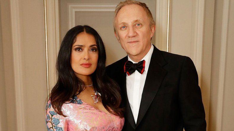 El esposo de Salma Hayek le donará una fortuna a Notre Dame