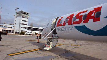 con aviones mas grandes, lasa pide otra oportunidad
