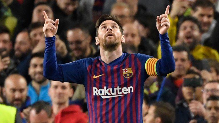 Messi rompió la racha con dos goles y está en semis