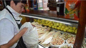 las ventas en las pescaderias estan muy tranquilas