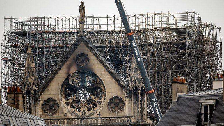 Notre Dame: récord de donaciones pero sin evasiones