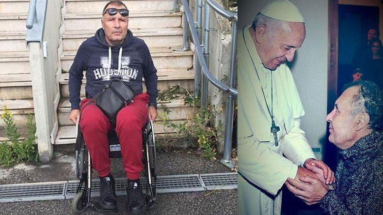 Se hizo pasar por inválido y engañó hasta al Papa