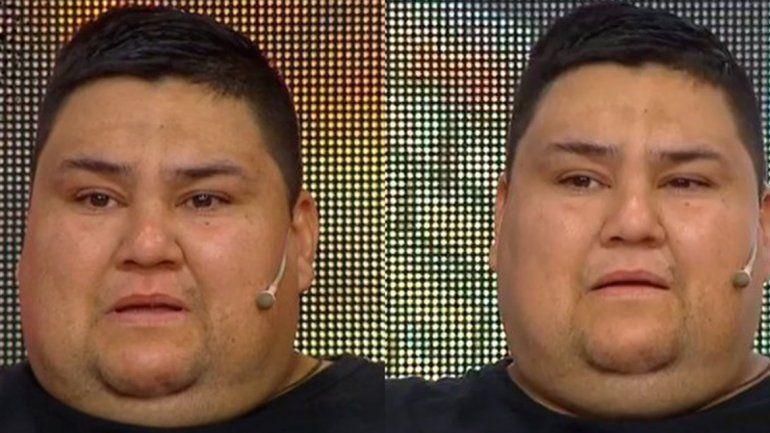 Reapareció Luisito de Cuestión de peso para hablar de su mal momento