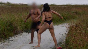 se masturbo delante de una luchadora y se llevo terrible paliza