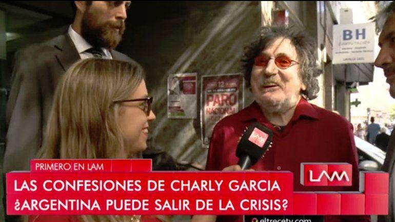 Charly reflexionó acerca de la crisis que atraviesa el país: Me queda una esperanza