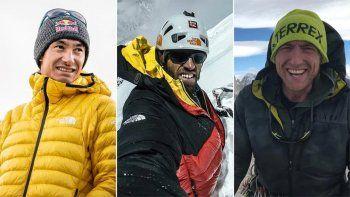 dieron por muertos a tres de los mejores alpinistas del mundo