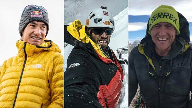Dieron por muertos a tres de los mejores alpinistas del mundo tras una avalancha