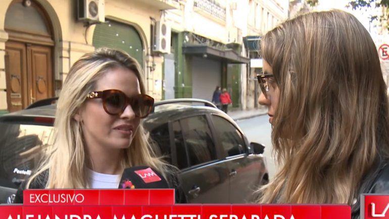 Alejandra Maglietti rompió el silencio y habló de su separación