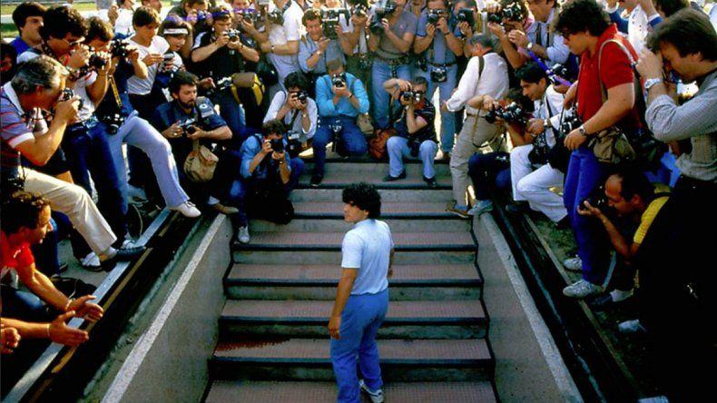 Diego llega a Cannes
