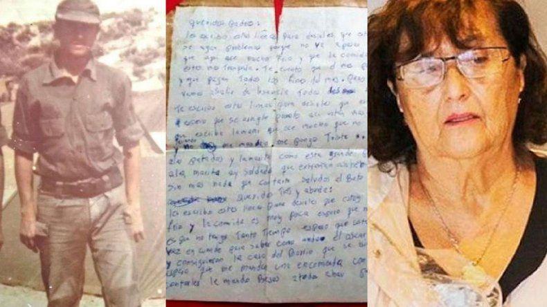 La carta de un caído en Malvinas que llegó ahora