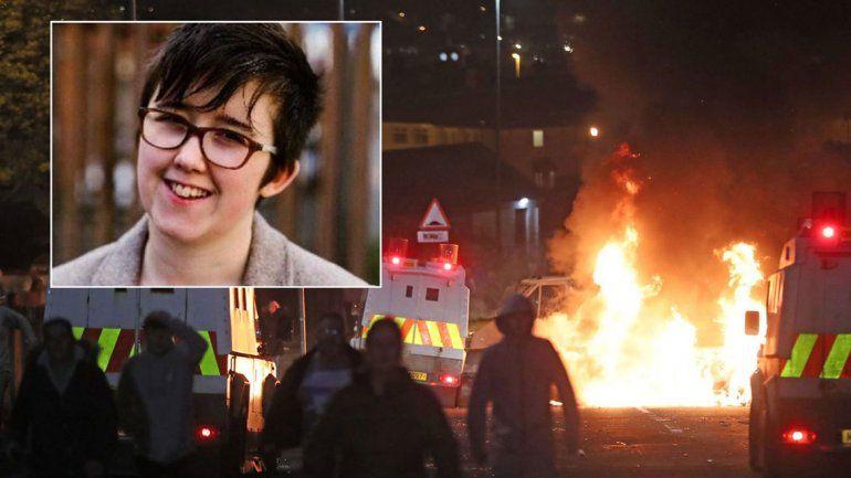 Irlanda: matan a una joven periodista en medio de disturbios
