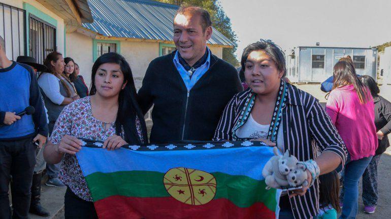 Gutiérrez anunció obras y servicios para Ruca Choroi