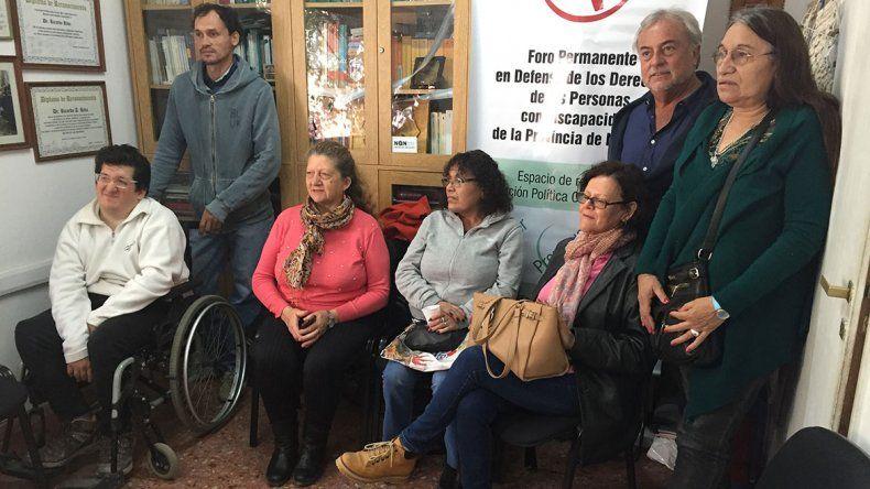 Reclamaron gratuidad en el transporte para los discapacitados