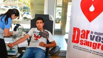 el lunes comienza la cuarta colecta solidaria de sangre