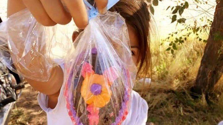 Huevos de Pascua y cine para los chicos de Nueva Esperanza