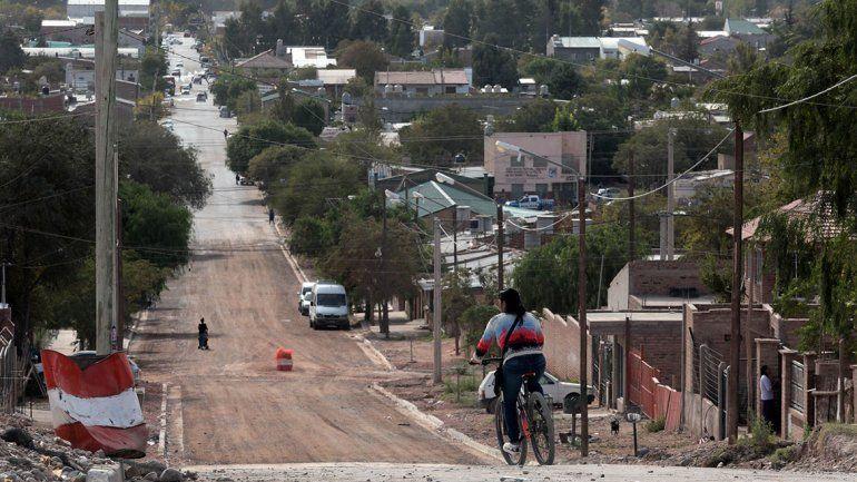 Centenario llega con asfalto a lo  alto de la meseta