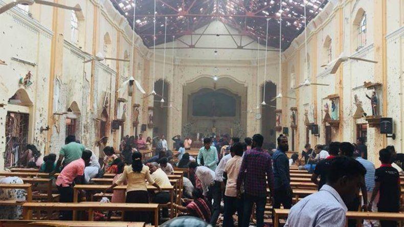 Sri Lanka: más de 200 muertos tras una serie de atentados