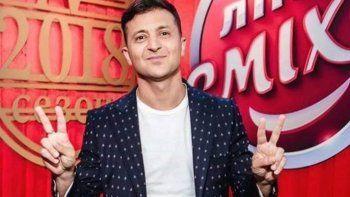 paso de ser protagonista de una serie a ser presidente de ucrania