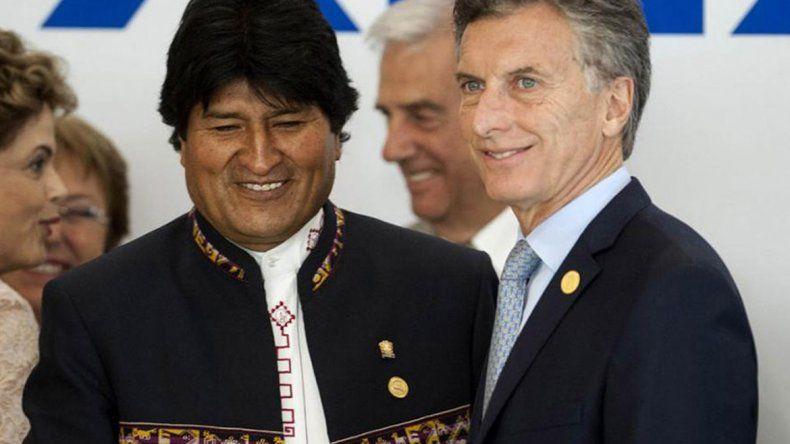 El Presidente recibe a Evo Morales con una agenda importante