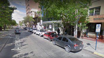 violentaron la puerta de una escribania en pleno centro y se robaron 13 mil pesos